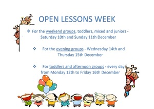 Open lessons week